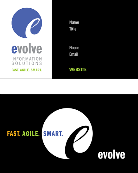 Case Study Image: Evolve Information Solutions business collateral