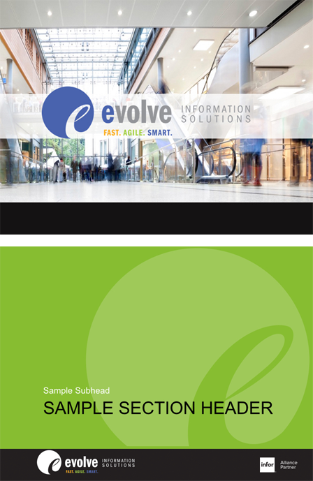 Case Study Image: Evolve Information Solutions powerpoint templates