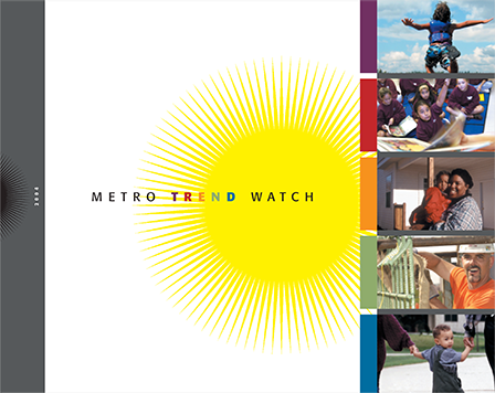 Case Study Image: Wilder Research, Metro Trend Watch brochure cover