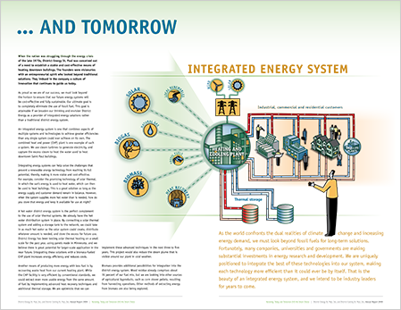 Case Study Image: District Energy St. Paul annual report