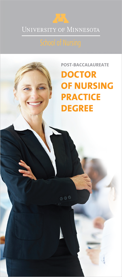 Case Study Image: University of Minnesota School of Nursing brochure cover
