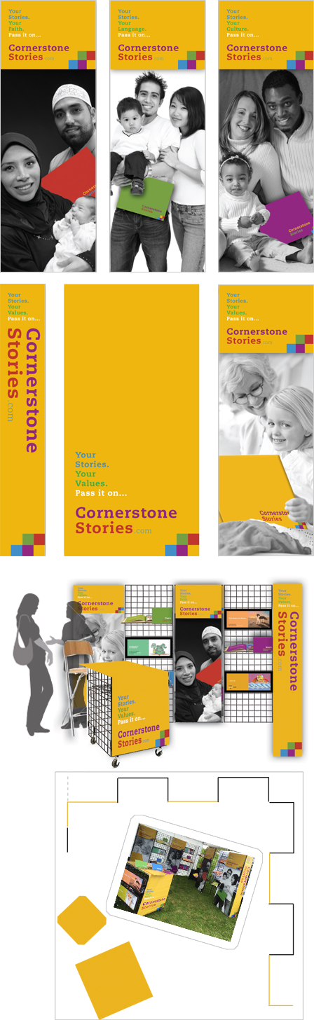 Case Study Image: Cornerstone Stories display booth