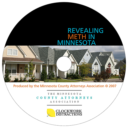 Case Study Image: Minnesota County Attorneys Association Revealing Meth dvd label