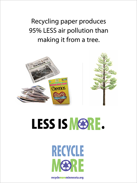 Case Study Image: Minnesota Pollution Control Agency Recycle More advertisement