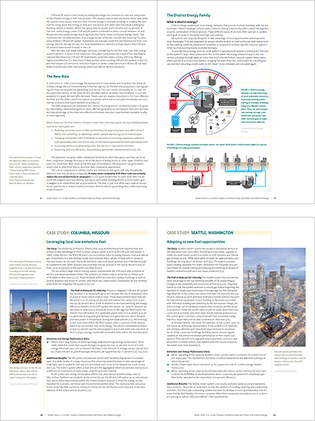 Case Study Image: International District Energy Association White Paper Interior Page