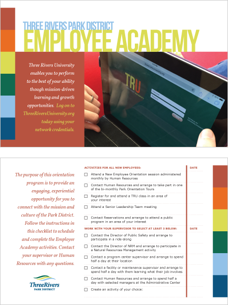 Case Study Image: Three Rivers University Employee Academy card